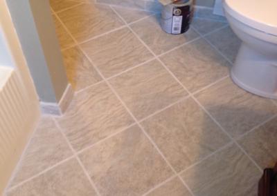 new tile job