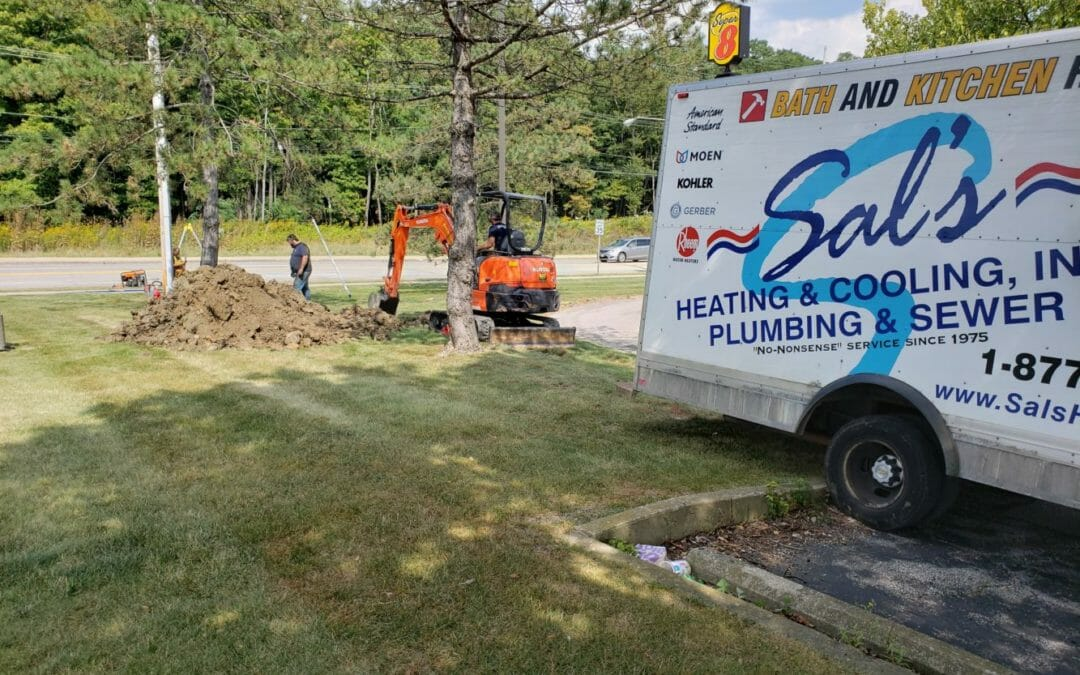 Water Main Repair at an Ice Rink