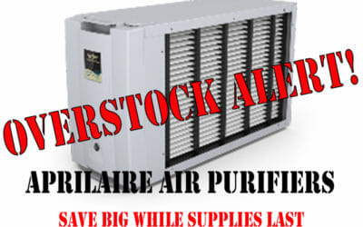 Overstock of Aprilaire Whole-Home Air Purifiers and Wifi Programmable Thermostats: Deep Discounts Alert!