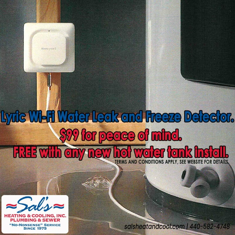 Lyric Wi-Fi Water Leak Detector
