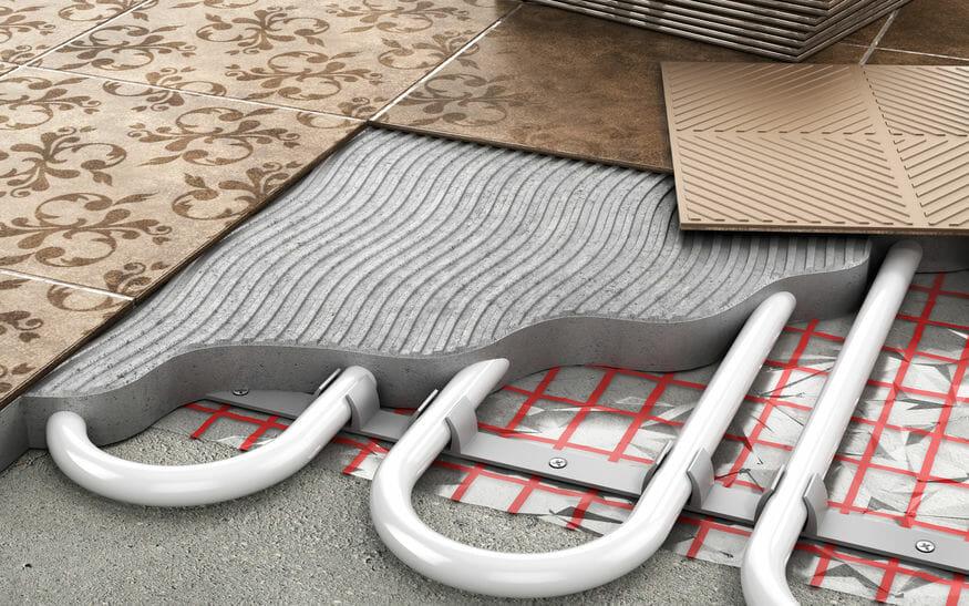 boiler heat flooring